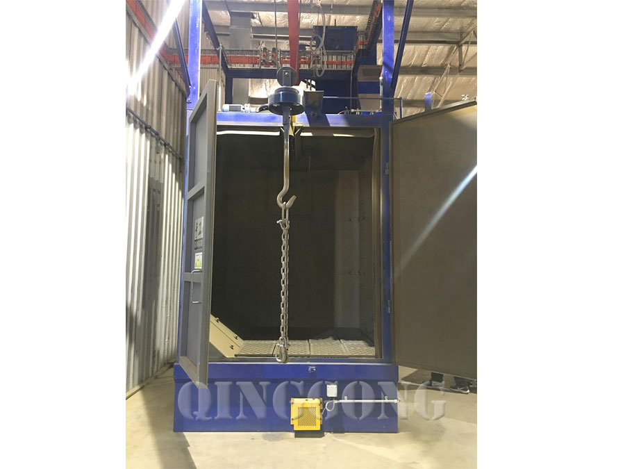 hanger type shot blasting machine 3