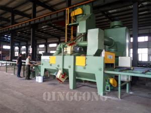 steel plate shot blasting machine 2