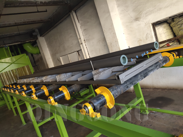 Blasting of Roller Conveyor Shot Blasting Machine