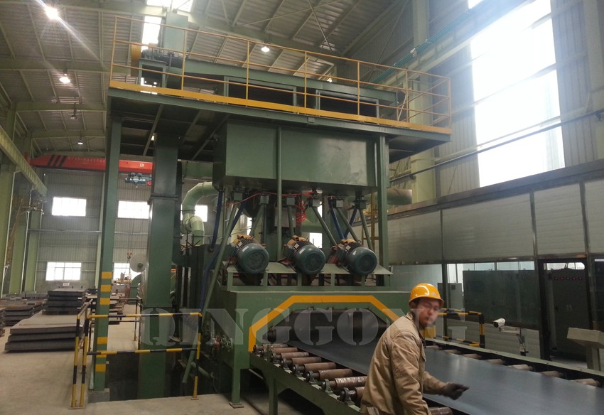 steel plate shot blasting machine 3