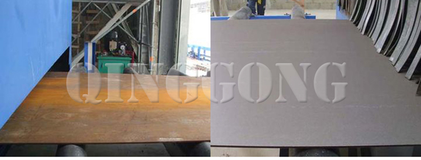 steel plate shot blasting machine 4
